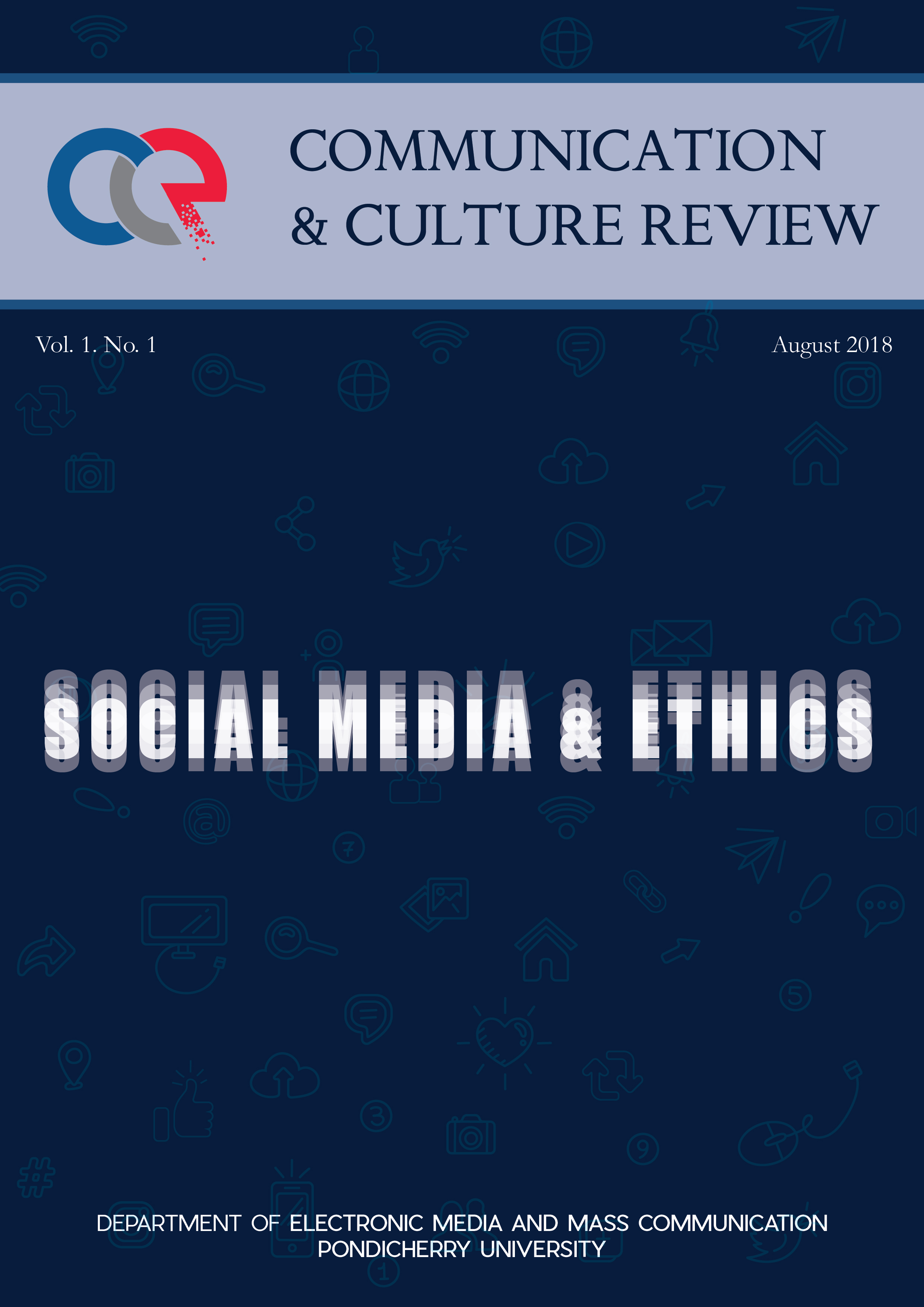 Inaugural Issue of Communication and Culture Review
